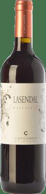 9,95 € Free Shipping | Red wine Capçanes Lasendal Garnatxa Joven D.O. Montsant Catalonia Spain Syrah, Grenache Bottle 75 cl