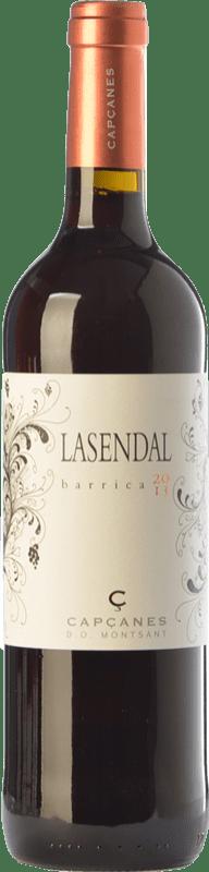 8,95 € Free Shipping | Red wine Capçanes Lasendal Garnatxa Joven D.O. Montsant Catalonia Spain Syrah, Grenache Bottle 75 cl
