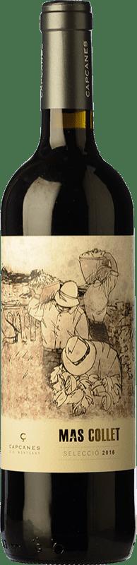 7,95 € Free Shipping | Red wine Capçanes Mas Collet Joven D.O. Montsant Catalonia Spain Tempranillo, Grenache, Cabernet Sauvignon, Carignan Bottle 75 cl
