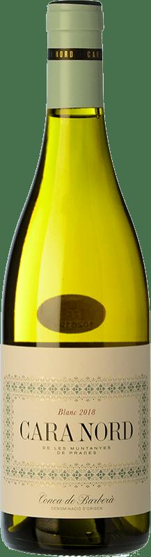 11,95 € Free Shipping | White wine Cara Nord Blanc D.O. Conca de Barberà Catalonia Spain Macabeo, Chardonnay, Albariño Bottle 75 cl