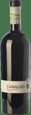 28,95 € Free Shipping | Red wine Carchelo Canalizo Crianza D.O. Jumilla Castilla la Mancha Spain Tempranillo, Syrah, Monastrell Bottle 75 cl