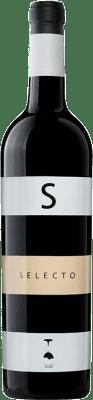 14,95 € Free Shipping | Red wine Carchelo Selecto Crianza D.O. Jumilla Castilla la Mancha Spain Tempranillo, Syrah, Cabernet Sauvignon, Monastrell Bottle 75 cl