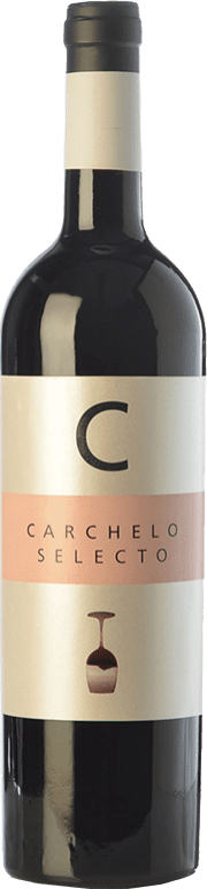 11,95 € Free Shipping | Red wine Carchelo Selecto Crianza D.O. Jumilla Castilla la Mancha Spain Tempranillo, Syrah, Cabernet Sauvignon, Monastrell Bottle 75 cl