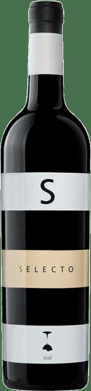 11,95 € Envío gratis | Vino tinto Carchelo Selecto Crianza D.O. Jumilla Castilla la Mancha España Tempranillo, Syrah, Cabernet Sauvignon, Monastrell Botella 75 cl