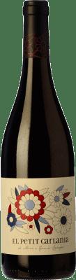 11,95 € Free Shipping | Red wine Carlania Petit Joven D.O. Conca de Barberà Catalonia Spain Trepat Bottle 75 cl