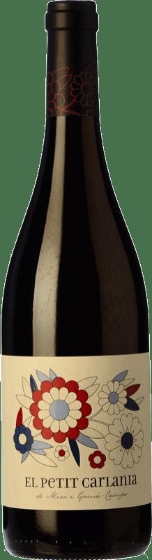 9,95 € Free Shipping | Red wine Carlania Petit Joven D.O. Conca de Barberà Catalonia Spain Trepat Bottle 75 cl