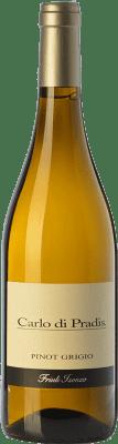 14,95 € Free Shipping | White wine Carlo di Pradis Pinot Grigio D.O.C. Friuli Isonzo Friuli-Venezia Giulia Italy Pinot Grey Bottle 75 cl