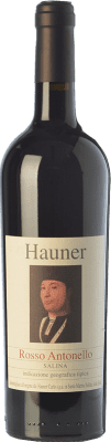 19,95 € Free Shipping | Red wine Hauner Rosso Antonello I.G.T. Salina Sicily Italy Sangiovese, Calabrese, Corinto Bottle 75 cl