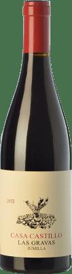 29,95 € Free Shipping | Red wine Casa Castillo Las Gravas Crianza D.O. Jumilla Castilla la Mancha Spain Syrah, Cabernet Sauvignon, Monastrell Bottle 75 cl