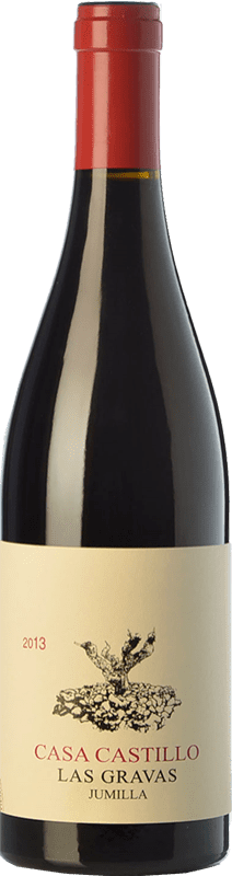 27,95 € Free Shipping | Red wine Casa Castillo Las Gravas Crianza D.O. Jumilla Castilla la Mancha Spain Syrah, Cabernet Sauvignon, Monastrell Bottle 75 cl