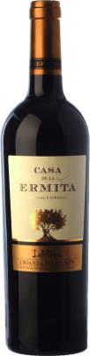 13,95 € Free Shipping | Red wine Casa de la Ermita Idílico Reserva D.O. Jumilla Castilla la Mancha Spain Monastrell, Petit Verdot Bottle 75 cl