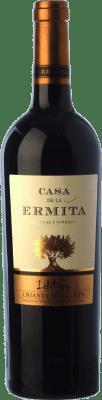 11,95 € Envío gratis | Vino tinto Casa de la Ermita Idílico Reserva D.O. Jumilla Castilla la Mancha España Monastrell, Petit Verdot Botella 75 cl