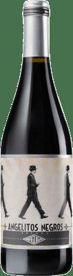 9,95 € Kostenloser Versand | Rotwein Casa Maguila Angelitos Negros Joven D.O. Toro Kastilien und León Spanien Tinta de Toro Flasche 75 cl