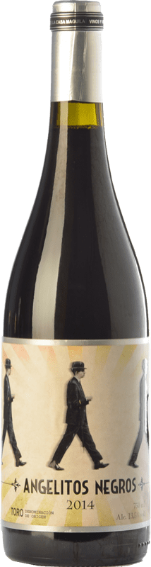 9,95 € Free Shipping | Red wine Casa Maguila Angelitos Negros Joven D.O. Toro Castilla y León Spain Tinta de Toro Bottle 75 cl