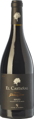 99,95 € Free Shipping | Red wine Casar de Burbia El Castañal Crianza D.O. Bierzo Castilla y León Spain Mencía Bottle 75 cl | Thousands of wine lovers trust us to get the best price guarantee, free shipping always and hassle-free shopping and returns.