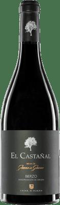 99,95 € Envío gratis | Vino tinto Casar de Burbia El Castañal Crianza D.O. Bierzo Castilla y León España Mencía Botella 75 cl