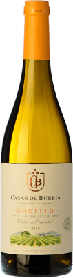 8,95 € Kostenloser Versand | Weißwein Casar de Burbia D.O. Bierzo Kastilien und León Spanien Godello Flasche 75 cl