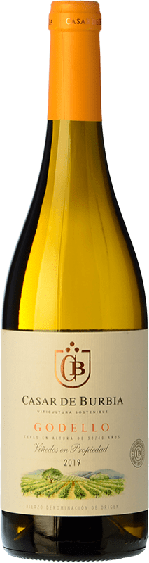 9,95 € Free Shipping | White wine Casar de Burbia D.O. Bierzo Castilla y León Spain Godello Bottle 75 cl