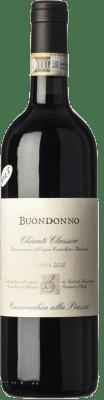 26,95 € Free Shipping | Red wine Casavecchia alla Piazza Buondonno Riserva Reserva D.O.C.G. Chianti Classico Tuscany Italy Sangiovese Bottle 75 cl