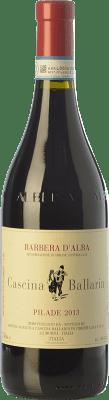 18,95 € Free Shipping | Red wine Cascina Ballarin Pilade D.O.C. Barbera d'Alba Piemonte Italy Barbera Bottle 75 cl
