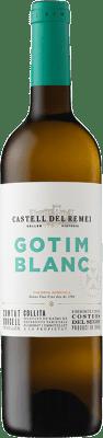 9,95 € Envoi gratuit | Vin blanc Castell del Remei Gotim Blanc D.O. Costers del Segre Catalogne Espagne Macabeo, Sauvignon Blanc Bouteille 75 cl