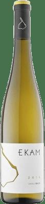 28,95 € Envoi gratuit | Vin blanc Castell d'Encús Ekam D.O. Costers del Segre Catalogne Espagne Albariño, Riesling Bouteille 75 cl