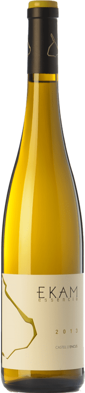 49,95 € Free Shipping | White wine Castell d'Encús Ekam Essència D.O. Costers del Segre Catalonia Spain Riesling Bottle 75 cl
