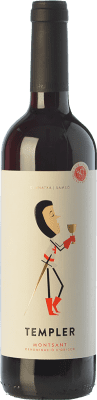 7,95 € Free Shipping | Red wine Castell d'Or Templer Jove Joven D.O. Montsant Catalonia Spain Grenache, Carignan Bottle 75 cl