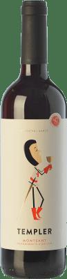 6,95 € Kostenloser Versand | Rotwein Castell d'Or Templer Jove Joven D.O. Montsant Katalonien Spanien Grenache, Carignan Flasche 75 cl