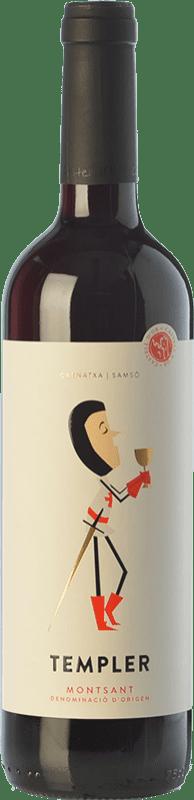 6,95 € Envío gratis | Vino tinto Castell d'Or Templer Jove Joven D.O. Montsant Cataluña España Garnacha, Cariñena Botella 75 cl
