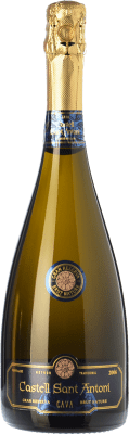 18,95 € Free Shipping   White sparkling Castell Sant Antoni Brut Nature Gran Reserva D.O. Cava Catalonia Spain Macabeo, Xarel·lo, Chardonnay, Parellada Bottle 75 cl.   Thousands of wine lovers trust us to get the best price guarantee, free shipping always and hassle-free shopping and returns.