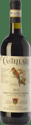 23,95 € Free Shipping | Red wine Castellare di Castellina Riserva Reserva D.O.C.G. Chianti Classico Tuscany Italy Sangiovese, Canaiolo Bottle 75 cl