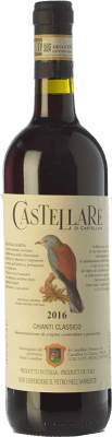 19,95 € Free Shipping | Red wine Castellare di Castellina D.O.C.G. Chianti Classico Tuscany Italy Sangiovese, Canaiolo Bottle 75 cl
