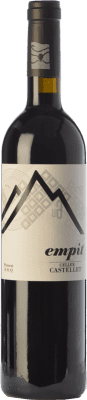 17,95 € Free Shipping | Red wine Castellet Empit Crianza D.O.Ca. Priorat Catalonia Spain Grenache, Cabernet Sauvignon, Carignan, Grenache Hairy Bottle 75 cl