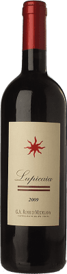 147,95 € Free Shipping | Red wine Castello del Terriccio Lupicaia I.G.T. Toscana Tuscany Italy Merlot, Cabernet Sauvignon, Petit Verdot Bottle 75 cl