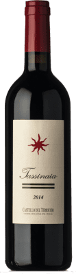 53,95 € Free Shipping | Red wine Castello del Terriccio Tassinaia I.G.T. Toscana Tuscany Italy Merlot, Cabernet Sauvignon, Sangiovese Bottle 75 cl