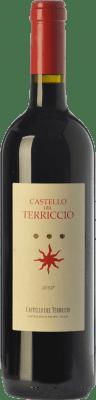 106,95 € Free Shipping | Red wine Castello del Terriccio 2010 I.G.T. Toscana Tuscany Italy Syrah, Petit Verdot Bottle 75 cl