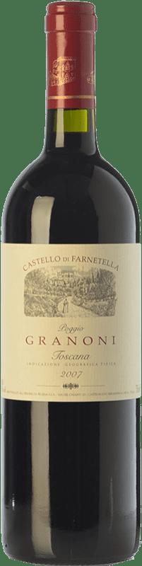 23,95 € Free Shipping   Red wine Castello di Farnetella Poggio Granoni I.G.T. Toscana Tuscany Italy Merlot, Syrah, Cabernet Sauvignon, Sangiovese Bottle 75 cl