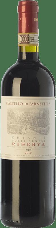 11,95 € Free Shipping | Red wine Castello di Farnetella Riserva Reserva D.O.C.G. Chianti Tuscany Italy Merlot, Cabernet Sauvignon, Sangiovese Bottle 75 cl