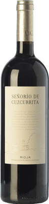 31,95 € Free Shipping | Red wine Castillo de Cuzcurrita Señorío de Cuzcurrita Crianza D.O.Ca. Rioja The Rioja Spain Tempranillo Bottle 75 cl