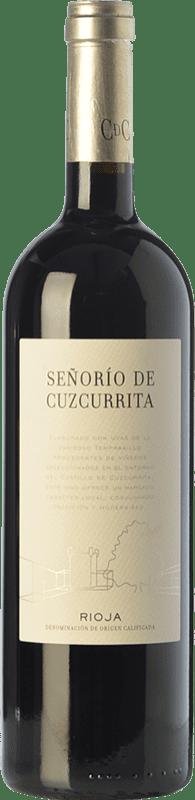 25,95 € Envío gratis | Vino tinto Castillo de Cuzcurrita Señorío de Cuzcurrita Crianza D.O.Ca. Rioja La Rioja España Tempranillo Botella 75 cl