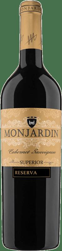 14,95 € Free Shipping | Red wine Castillo de Monjardín Reserva D.O. Navarra Navarre Spain Tempranillo, Merlot, Cabernet Sauvignon Bottle 75 cl