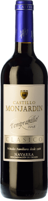 6,95 € Free Shipping | Red wine Castillo de Monjardín Joven D.O. Navarra Navarre Spain Tempranillo Bottle 75 cl