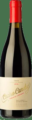 17,95 € Envío gratis | Vino tinto Castro Candaz Finca El Curvado Crianza D.O. Ribeira Sacra Galicia España Mencía Botella 75 cl