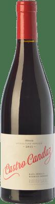 9,95 € Envío gratis | Vino tinto Castro Candaz Joven D.O. Ribeira Sacra Galicia España Mencía Botella 75 cl