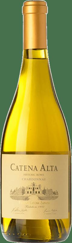 19,95 € Envío gratis | Vino blanco Catena Zapata Alta Crianza I.G. Mendoza Mendoza Argentina Chardonnay Botella 75 cl