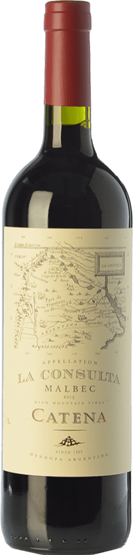 15,95 € Envoi gratuit   Vin rouge Catena Zapata La Consulta Reserva I.G. Valle de Uco Uco Valley Argentine Malbec Bouteille 75 cl