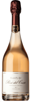 25,95 € Free Shipping | Rosé sparkling Cavicchioli Rosé del Cristo D.O.C. Lambrusco di Sorbara Emilia-Romagna Italy Lambrusco di Sorbara Bottle 75 cl