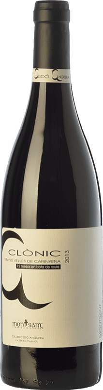 16,95 € Free Shipping | Red wine Cedó Anguera Clònic Vinyes Velles Carinyena Crianza D.O. Montsant Catalonia Spain Carignan Bottle 75 cl