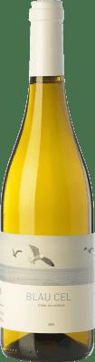 5,95 € Free Shipping | White wine Celler 9+ Blau Cel D.O. Tarragona Catalonia Spain Macabeo, Xarel·lo Bottle 75 cl